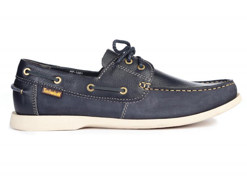 Оригинальные мужские туфли лодочки Timberland Kia Wah Bay 2-Eye Boat Blue тимберленд синие