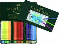 117560 60 цветов АКВАРЕЛЬНЫЕ КАРАНДАШИ ALBRECHT DURER В МЕТАЛЛИЧЕСКОЙ КОРОБКЕ Faber Castell