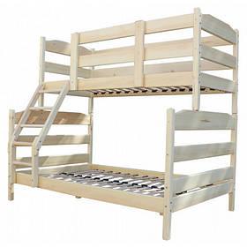 Трехместная кровать трансформер
