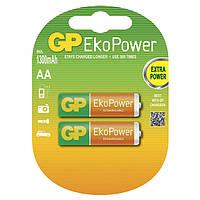 Акумулятор АА GP EkoPower 130ААНС-2UC2, 1300mAh, 2шт на блістері, ціна за блістер