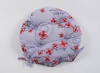 Подушка на стул Lotus круглая Ø 40 - Osaka красный