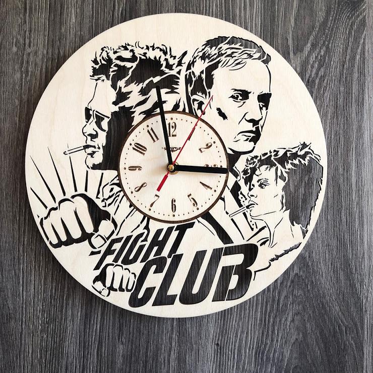 """Годинник настінний """"Бійцівський клуб"""" CL-0273"""