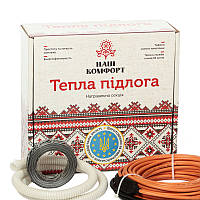 Нагревательный кабель НАШ КОМФОРТ БНК 150 Вт, 14,5 м (1,1 м2) теплый пол под стяжку, в плиточный клей