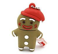 "Флешка-игрушка ""Санта-пряня"" (пряничный человечек),16 Гб, фото 1"