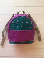Яркий детский рюкзак фиолетовый