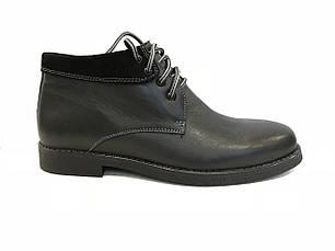 Зимние кожаные ботинки KADAR 2209-414, фото 2