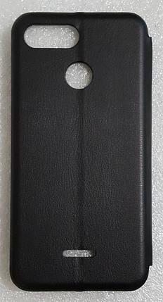 Чехол книжка LEVEL (Kira) для Xiaomi Redmi 6 black, фото 2