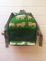 Яркий детский рюкзак зеленый