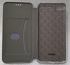 Чохол книжка Level (Kira) для Xiaomi Redmi 6A grey, фото 3