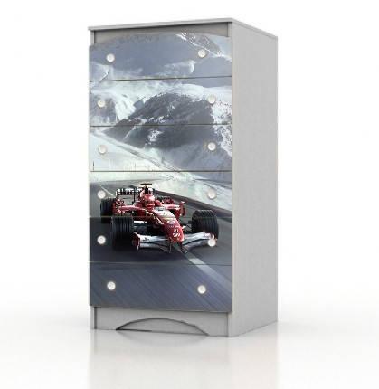 """Высокий комод Вальтер """"Formula 1"""", фото 1"""