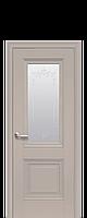 Двери межкомнатные Новый Стиль Имидж (Стекло сатин и рисунок) ПП Premium