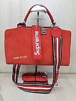 """Женская стильная сумка """"Supreme"""", фото 1"""