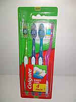 Набор зубных  щеток Colgate  4-pac remove stains