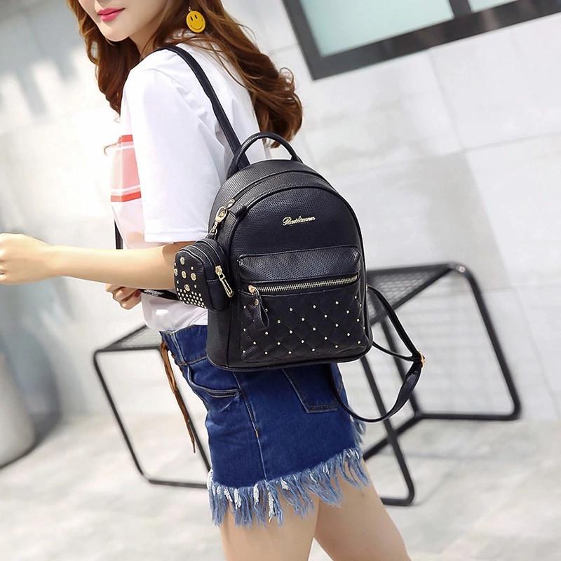 Женский рюкзак городской, Bailimen с кошельком 1020 - фото 10