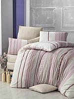Комплект постельного белья евро Victoria «Rengin»