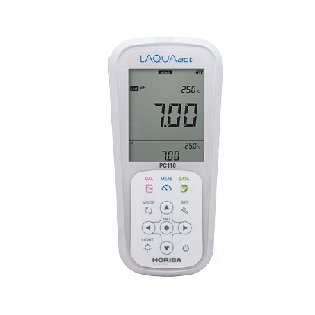 PH-метр/кондуктометр HORIBA LAQUAact PC110 (pH, mV, Cond, Salt, TDS)