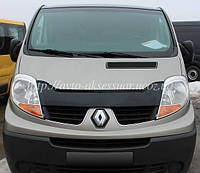 Мухобойка Renault Trafic (короткая)