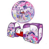 Детская палатка-тоннель My Little Pony М 3777