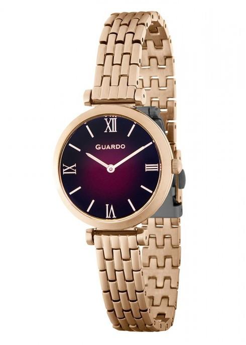 Жіночі наручні годинники Guardo P12333(m) RgPr