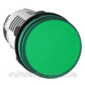 Сигнальная лампа 22 мм 230В зелена XB7EV03MP