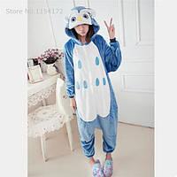 Пижама плюшевая Кигуруми для подростка Сова S (на рост 140-150 см) 2edec5228f7ea