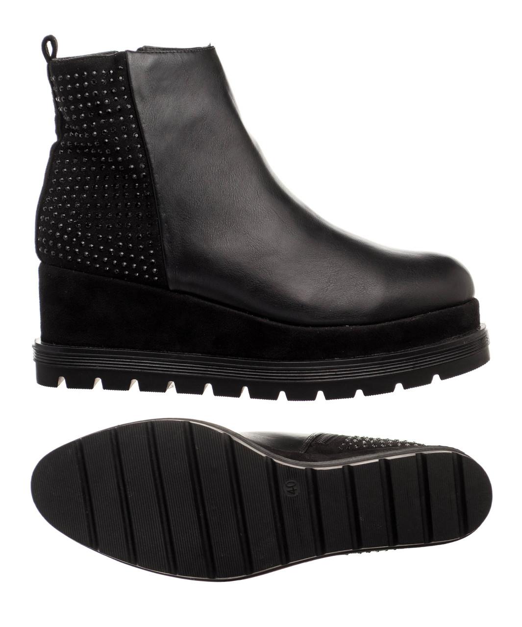 Жіночі черевики Tata Stivaletti 40 Black