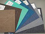 Рулонні штори Джинс синій неві, фото 2