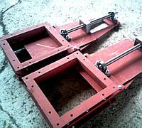 Затвор шиберный, ручной, ножевой 300х300, (ЗШР-300)