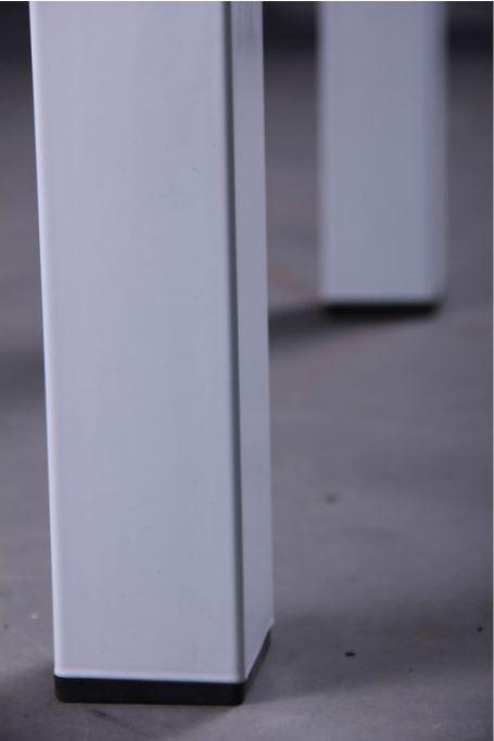 Стол Корфу 800(1250)х650х770 База белый/Стекло белый (фото 9)