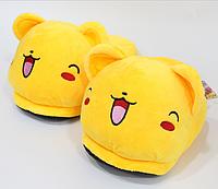 Тапочки-кигуруми желтые,36-39