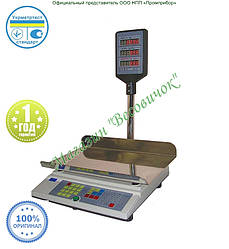 Весы торговые с аккумулятором ВТА-15 кг (240*400мм)