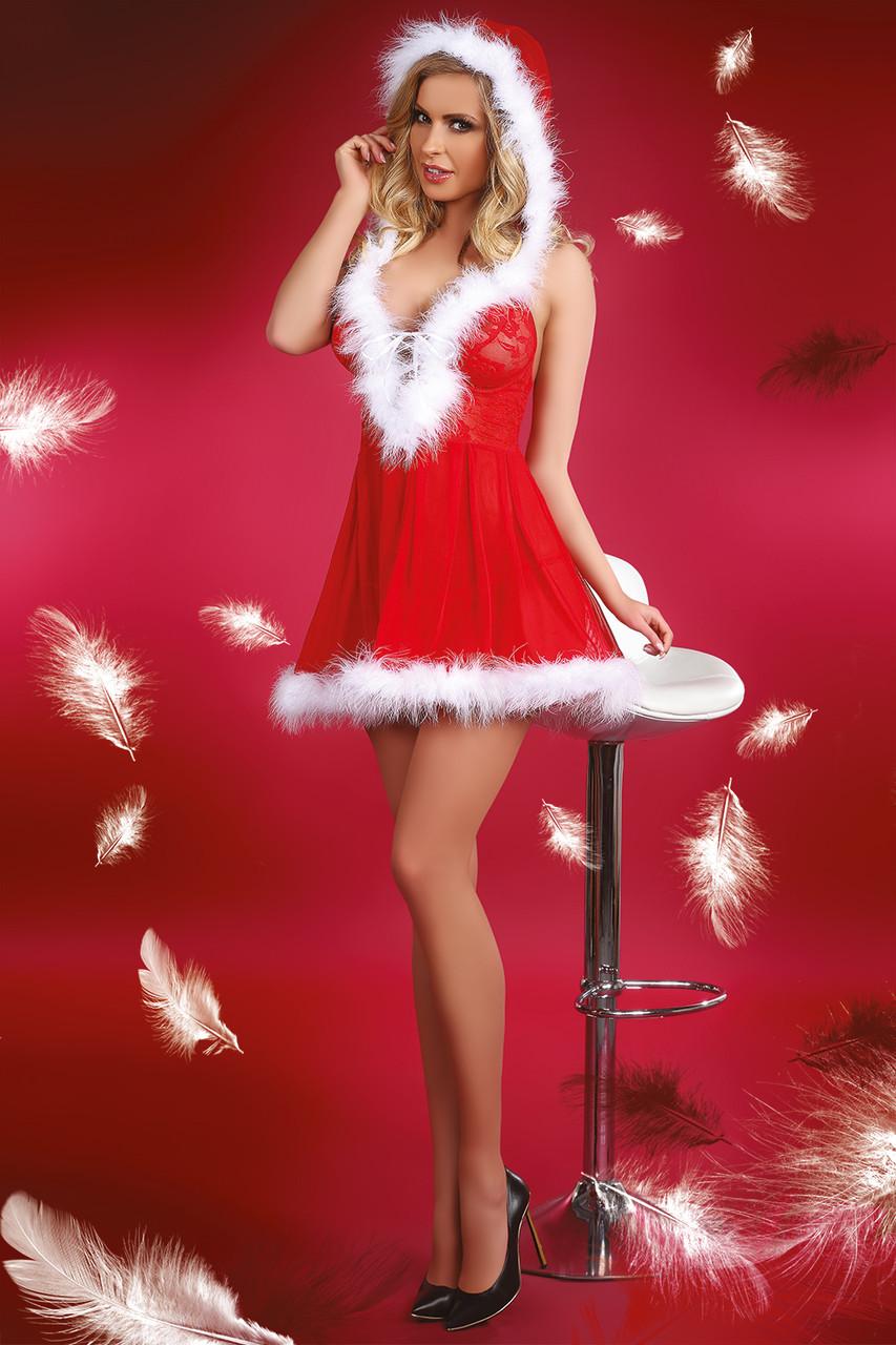 Игровой новогодний костюм Снегурочки