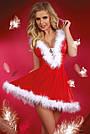 Игровой новогодний костюм Снегурочки, фото 3