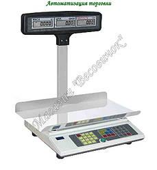 Весы для торговли с аккумулятором ВТА-15 кг (240*400мм)