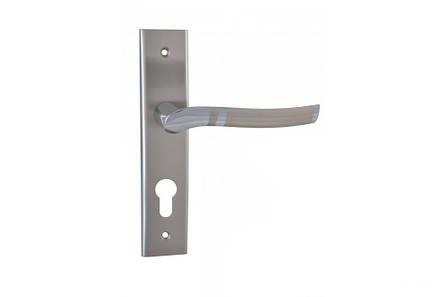 """Дверная ручка SIBA """"VERONA"""" матовый никель (62 мм)"""
