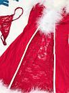 Игровой новогодний костюм Снегурочки, фото 4