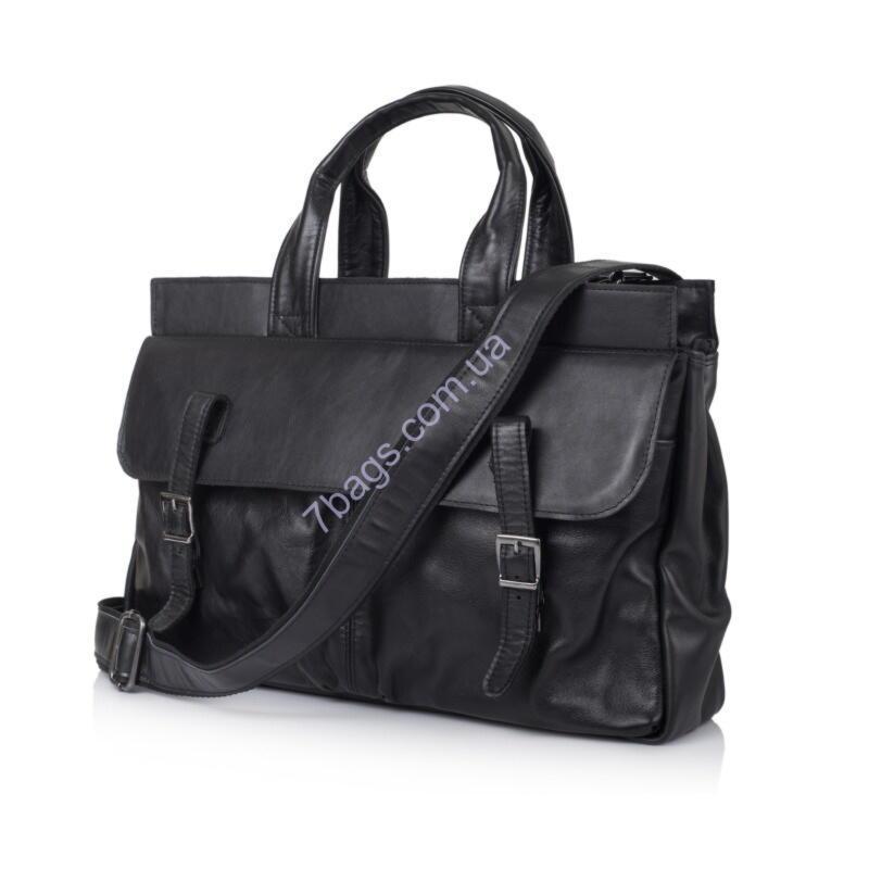811852720962 Мужская кожаная сумка с отделом для ноутбука GA-7107-1md TARWA - Тибериус —