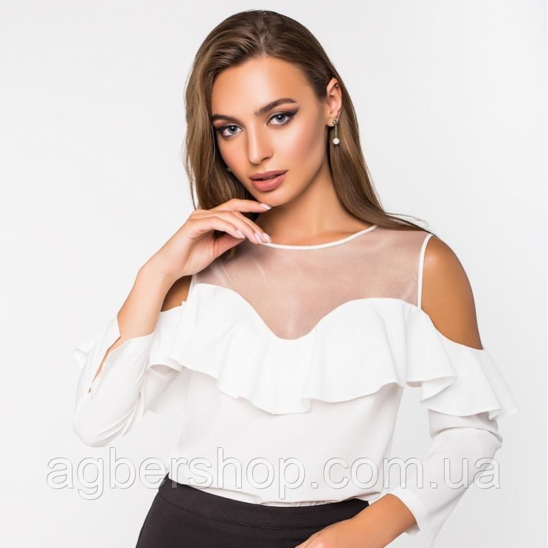 Блуза шелковая (Арт. 2156)
