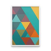 Постер на стену FIESTA добавит яркой строгости в интерьер
