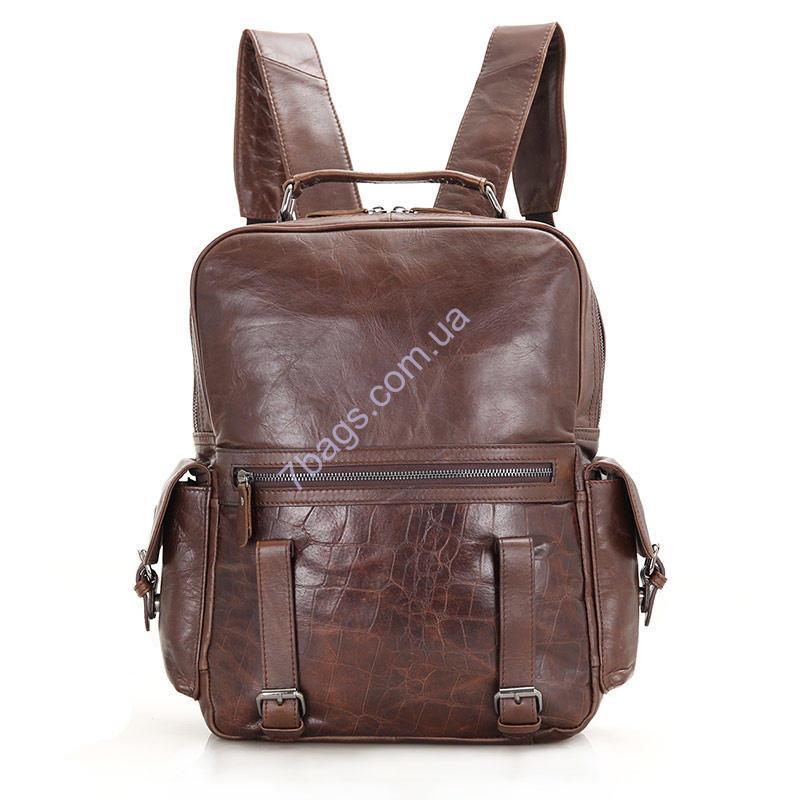 64c7ee05dfc2 Рюкзак из телячьей кожи JD7355C фирмы John McDee - Тибериус — магазин  стильных аксессуаров из натуральной