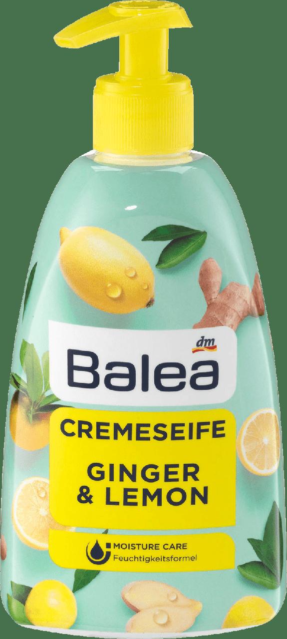 Жидкое крем - мыло Balea Ginger & Lemon, 500 ml