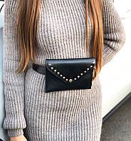 Женская модная сумка 19х14 из экокожи