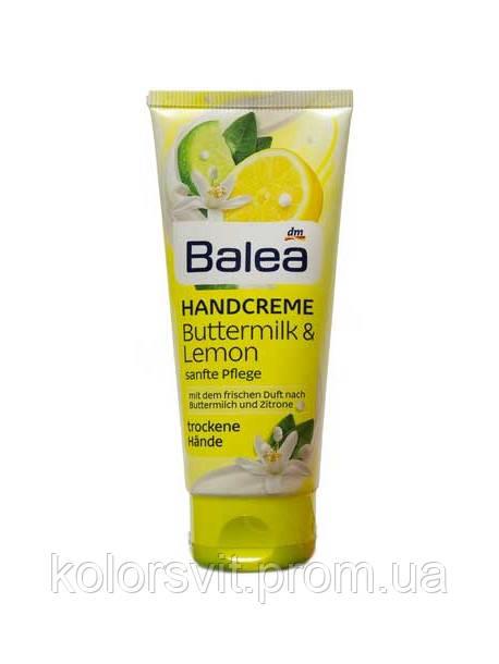 Крем для рук Balea Buttermilk & Lemon 100 мл.