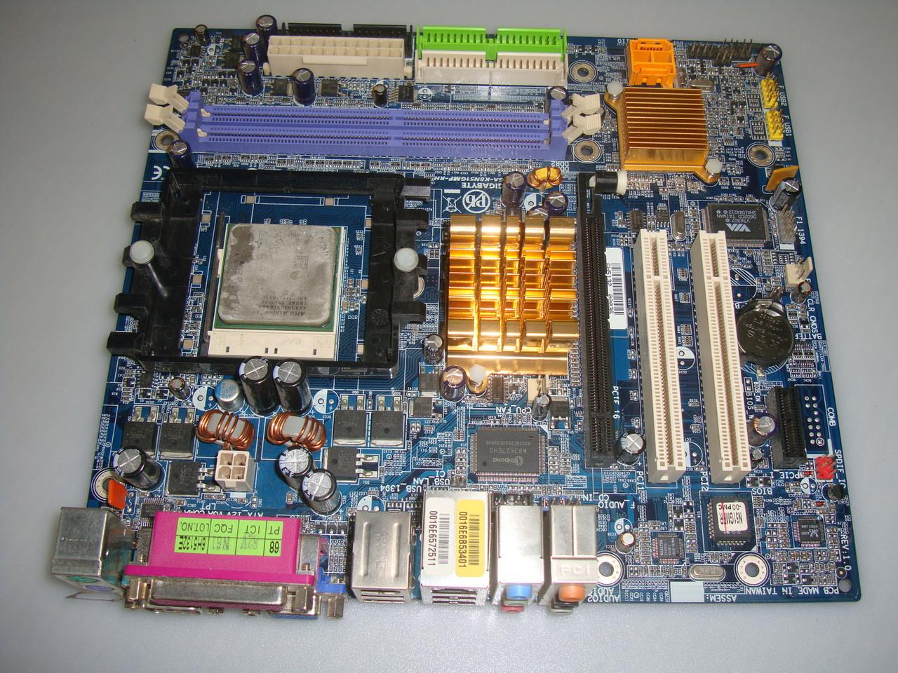 Материнская плата GIGABYTE GA-K8N51GMF-RH (Socket 754, DDR DIMM)