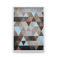 Постер на стену ГЕОМЕТРИЧЕСКИЙ ПОСТЕР для тех кто не любит розовые треугольники
