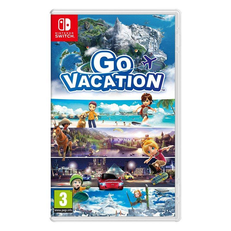 Игра Go Vacation для Nintendo Switch (английская версия)