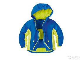 Термокуртка зимняя лыжная для мальчика синяя Lupilu р.86/92.
