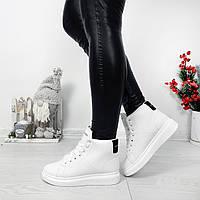 Кросівки зимові Polscy білі на хутрі