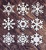 Снежинки из фанеры