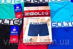 Белье мужское однотонные широкая спортивная резинка яркие Golt, 3301, фото 3